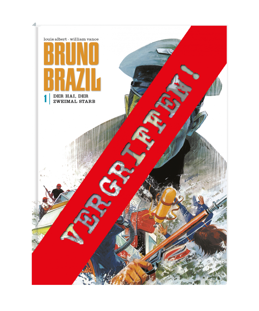 Bruno Brazil 1 VZA - Der Hai, der zweimal starb