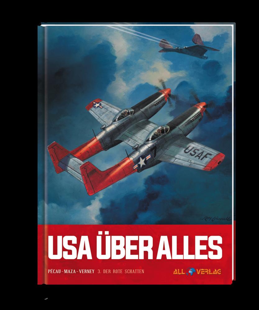 USA über alles 3 VZA - Der rote Schatten