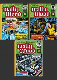 EC Archiv - Wally Wood VZA Gesamtausgabe (3 Bücher)