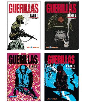 Guerillas VZA Gesamtausgabe (4 Bücher)
