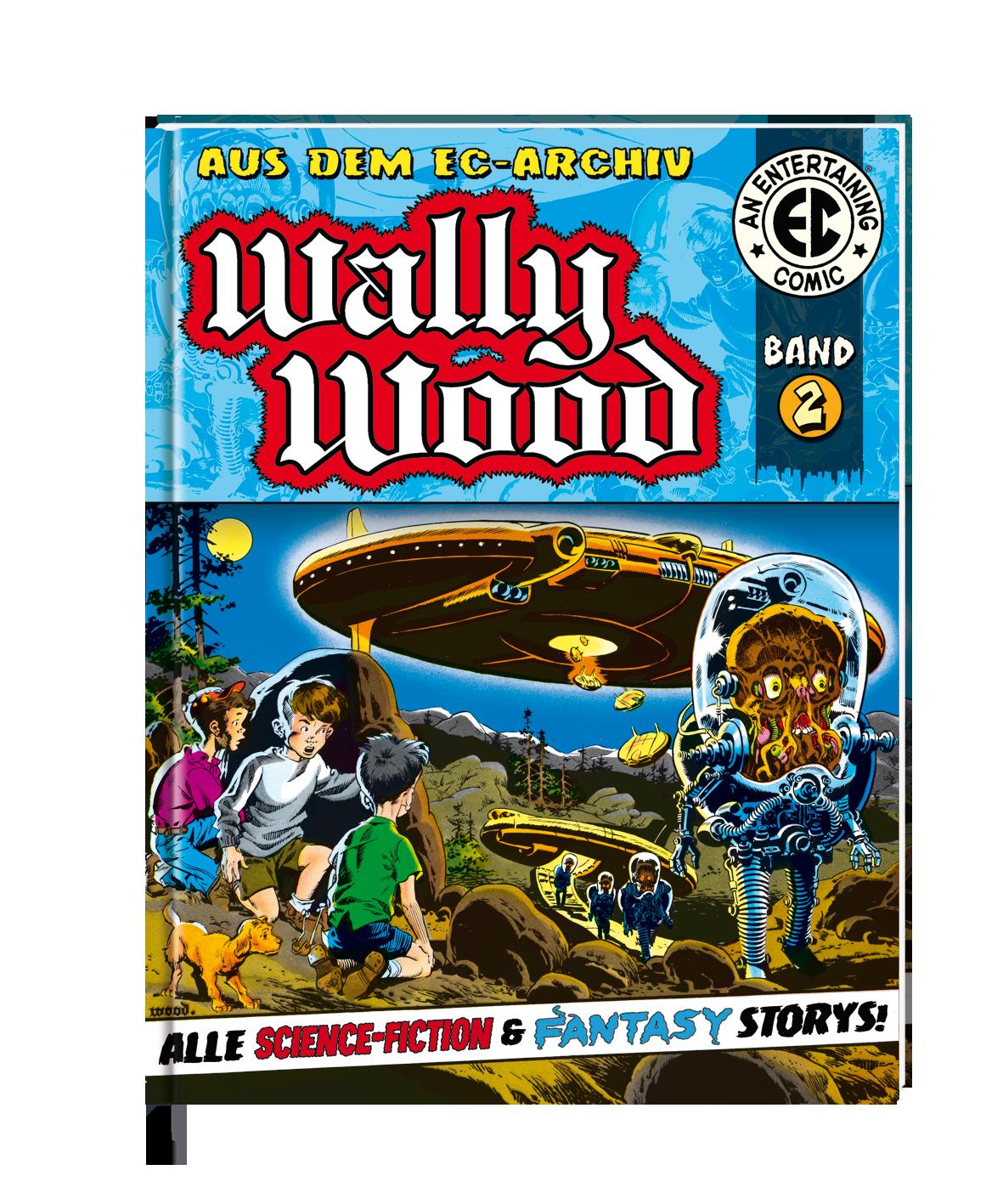 Wally Wood 1 EC Archiv All Verlag