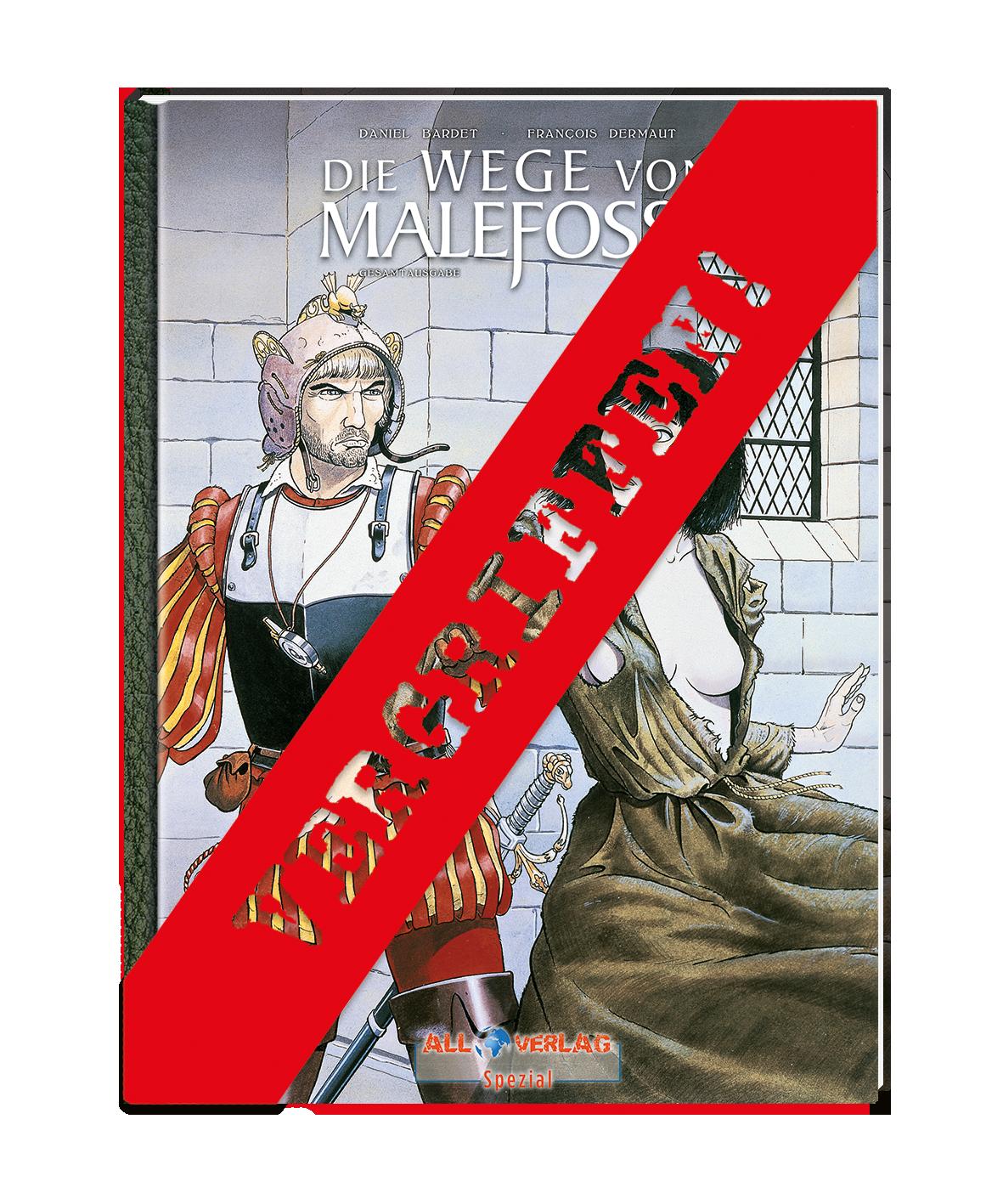 Die Wege von Malefosse Gesamtausgabe 1 All Verlag